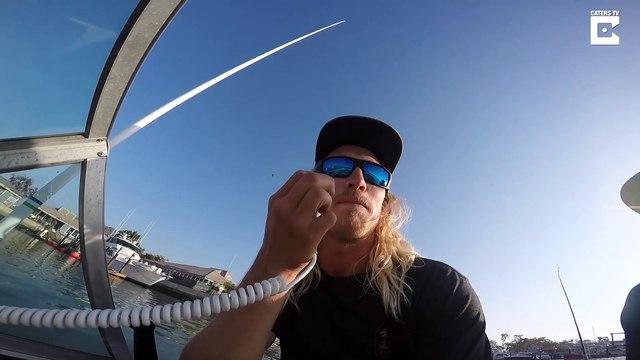 Fishermen Get Caught on Great White Shark