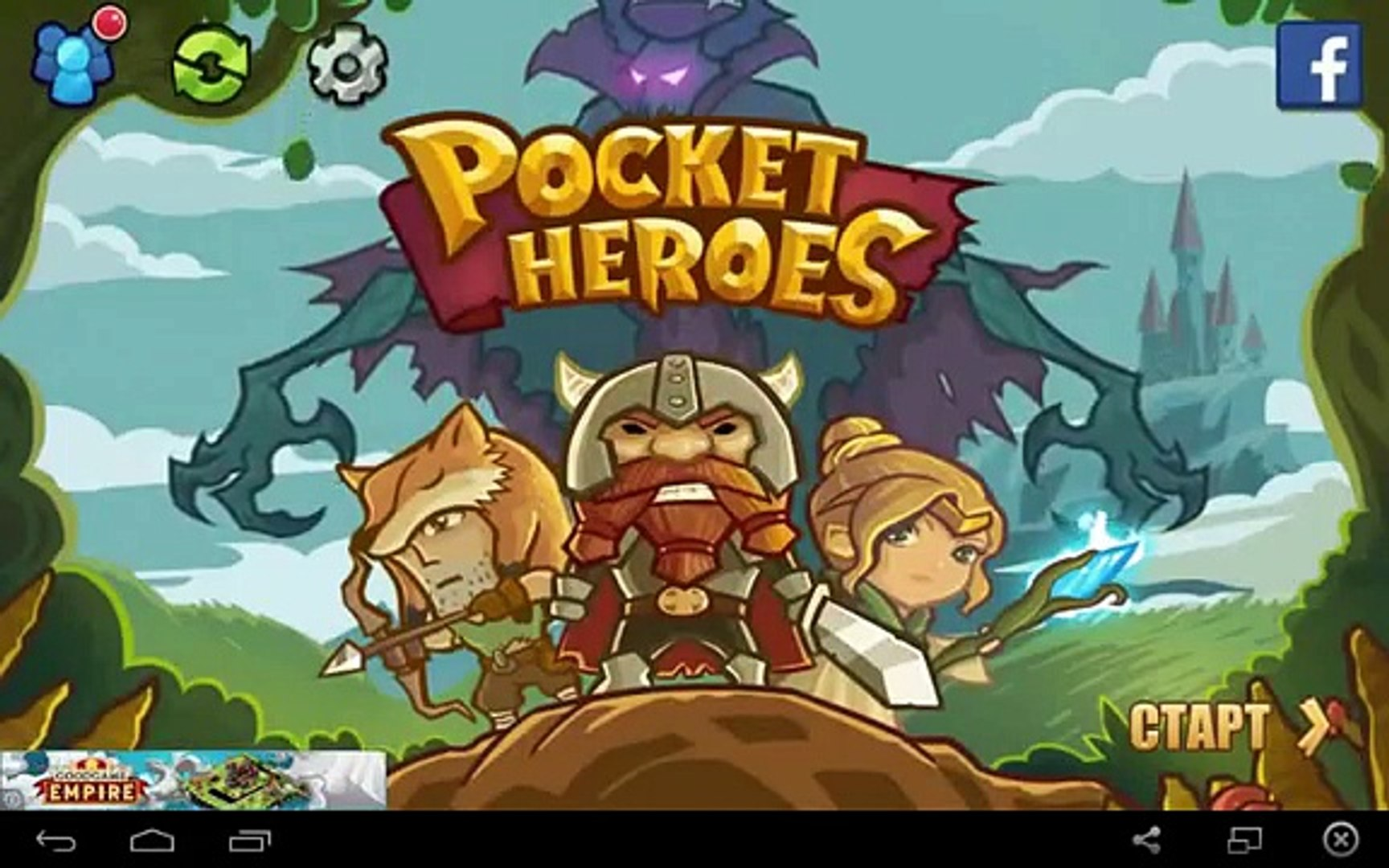 Pocket Heroes - for Android and iOS GamePlay
