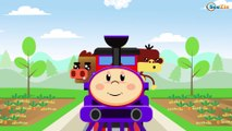 The Train - Learn Colors & Numbers - Trains & Trucks cartoons for kids - Cartoons for children