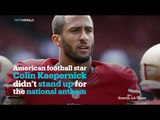 San Francisco 49ers quarterback caused controversy after sat in protest