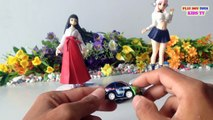 Cute Japanese Toy Girl, Girl Figure | Super Sonico Toy & Cars Bus | Kids Toys Videos HD Collection