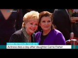 Debbie Reynolds dies a day after daughter Carrie Fisher