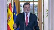 """Rajoy: """"Mi voluntad es que esta legislatura dure cuatro años"""""""