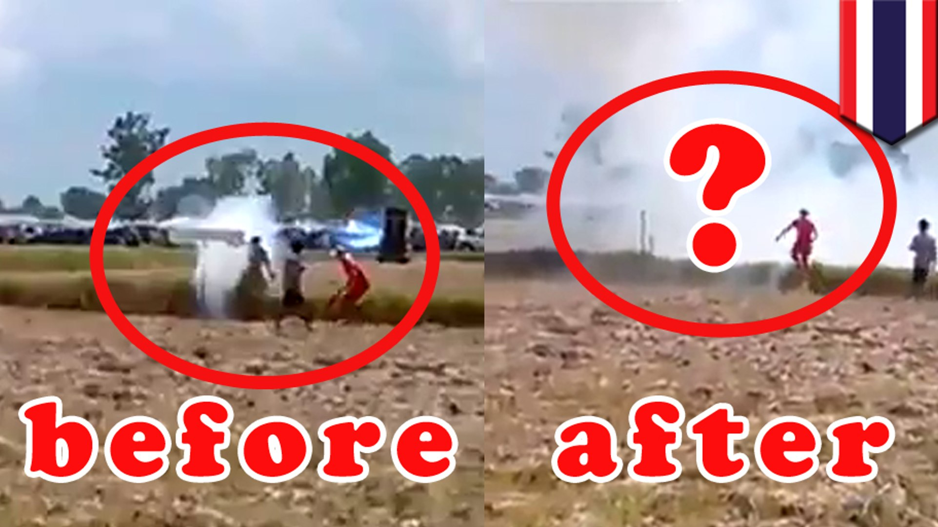 Biksu Thailand terbunuh oleh kembang api yang meledak di dekatnya - Tomonews