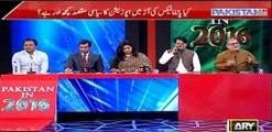 Orya Maqbool Jan and Kashif Abbasi made Marvi Sarmad speechless when she tried defending Nawaz Sharif on Panama