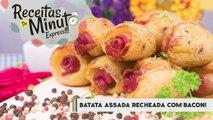 Batata Assada Recheada com Bacon - Receitas de Minuto EXPRESS #163-Z1XBtw106BE