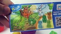 Super Wings Surprise Eggs Kinder Toys Jett, Dizzy, Donnie, Jerome