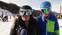 Hautes-Alpes : les touristes sont heureux à Serre-Chevalier en ce début de saison