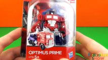 Optimus Prime Toy Truck Transformation Video REVIEW Toys for Boys Optimus Prime Autobots Transform
