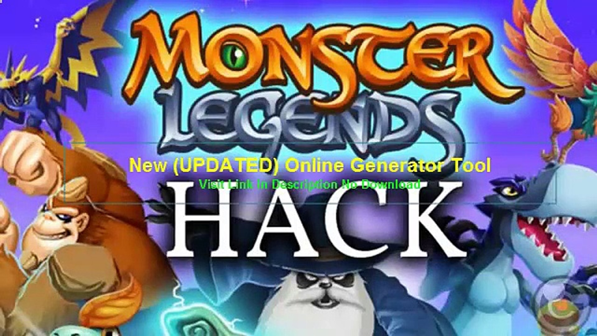 Monster Legends Illimite Gold Gems Food Outil De Piratage Triche 1 Video Dailymotion