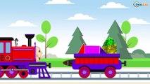 Trenes Para Niños | El Tren | Dibujos animados Educativos | Caricaturas de Trenes