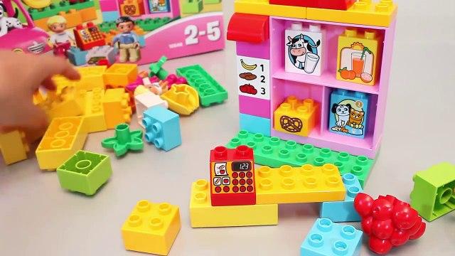 LEGO Duplo Shop & Market Cash Register & Car Toys 레고 듀플로 마트놀이 타요 뽀로로 폴리 장난감 YouTube