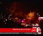 حريق هائل بولاية نيويورك الأمريكية
