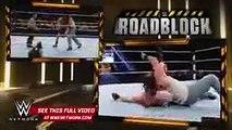WWE Brock Lesnar vs Bray Wyatt & Luke Harper 2 on 1 Handicap Match WWE Roadblock 2016