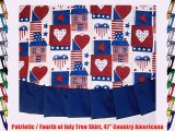 Patriotic / Fourth of July Tree Skirt 47 Country Americana