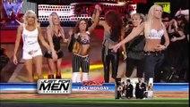 WWE RAW  Melina and Beth Phoenix vs Maria and Mickie James + Backstage Melina face turn