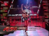 WWE RAW 2007 Mickie James and Candice Michelle vs  Victoria and Melina (1)