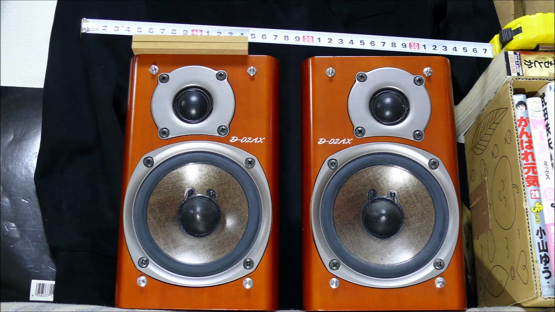 FOSTEX FE103E フルレンジ VS 2way D02AX 同箱比較com ♪ VOCAL