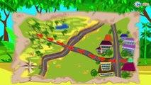Dessins animés sur les voitures - Pelleteuse, Tracteur, Camion | La voiture pour enfants