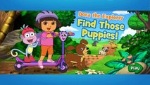 Dora the Explorer Episodes for Children Movie Games new HD Dora Find Those Puppies ! Nick jr Kids