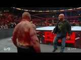Wwe Raw 28 Dec 2016 Goldberg return and want other Match with Brock Lesnar on Royal Rumble 2017 - YouTube