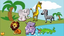 Learning Sea Farm Safari Animals for Kids   Teaching Animals for Children   Animals Names and Sounds
