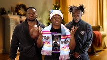 The New Day bring th reading 'The Night Before Christmas'