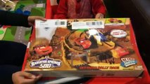 Toy Cars For Kids - Disney Cars Radiator Springs Off Road Rally Race Track Play Set FamilyToyReview