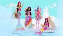 Mattel → Barbie Dreamtopia → Barbie Sereia das Cores → DHC40 → TV Toys