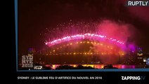 Sydney : Le sublime feu d'artifice du Nouvel an 2016 au Harbourg bridge (déo)