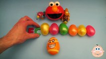 Kinder Surprise Egg Learn A Word! Spelling Play Doh Shapes! Lesson 9 Teaching Letters Opening Eggs