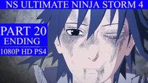 Naruto Shippuden Ultimate Ninja Storm 4 Walkthrough Part 20 - Naruto Vs Sasuke Ending (PS4)