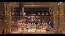 Laurent Gerra a parodié, sur C8, François Hollande, 10 minutes avant les voeux du vrai Président