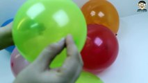 Learn Colors With Balloons Popping Balloons Bursting Balloons Colour Learning Balloon Popping Fun