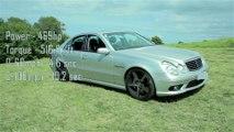 Eurocharged AMG E55 W211 TCU Shift Testing  - video dailymotion