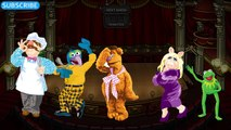 MUPPETS KERMIT MISS PIGGY finger family song muppets daddy finger song