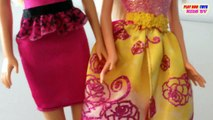 Barbie Girl Doll Easy Dresses & Barbie Girl Dolls Fairytale Fashion | Toys Collection Video For Kids