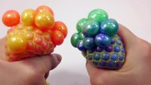 DIY How To Make Colors Squishy Stress Balloons Slime Ball Real Syringe Play Lear