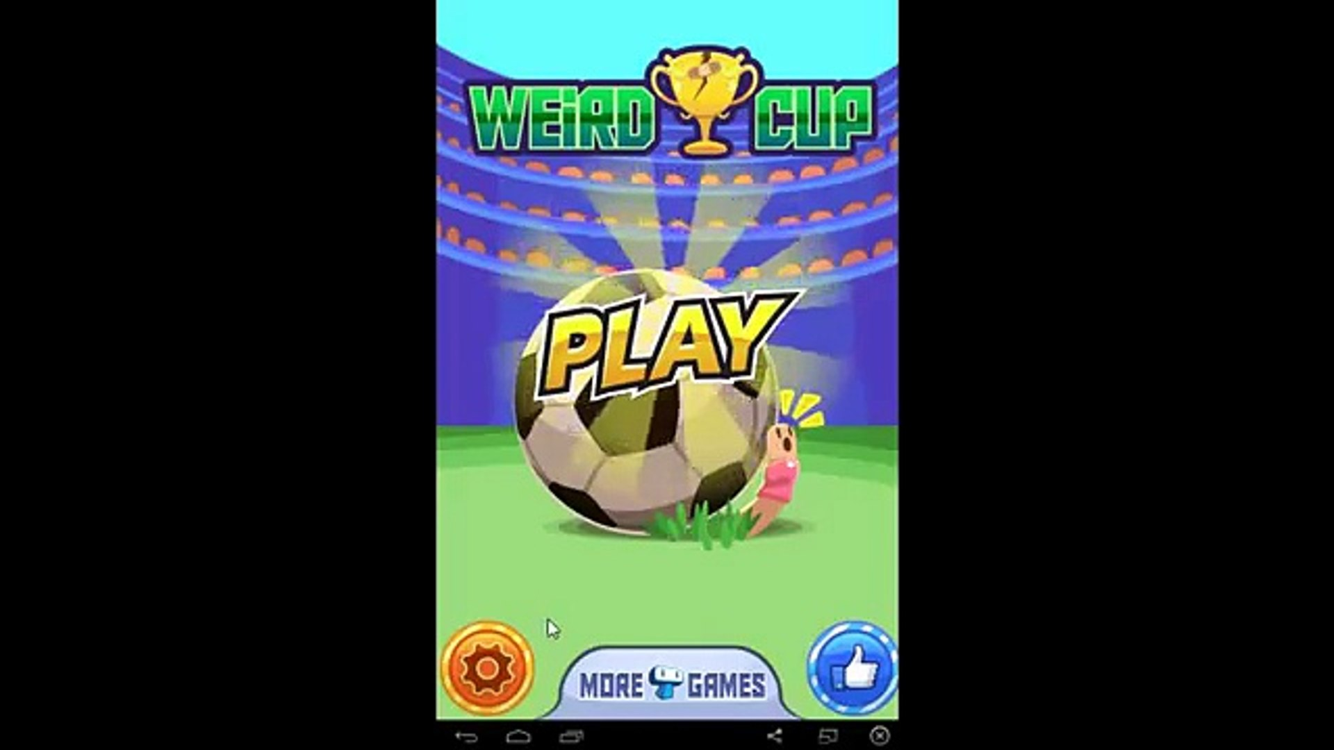 Weird Cup - Мини игры в футбол - for Android and iOS GamePlay