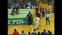Jinsei Shinzaki vs Naohiro Hoshikawa (Michinoku Pro October 19th, 1996)