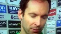 Petr Cech post Match interview vs Manchester City 2 1 ☺