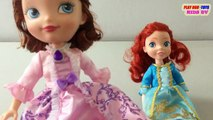 Fortune Days Dolls Toy : Ariel Doll & Disney Princess Sofia | Toys Collection Video For Kids