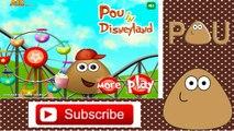 Pou Games - Pou in Disneyland Games - Pou Games For Girls & Children