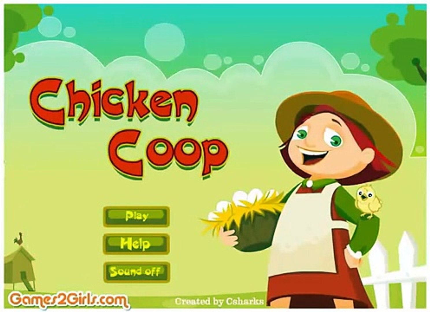 Chicken Koop Games Chicken Koop Games online-Farm Games-Girl Games