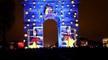 Bonne année 2017 : Spectacles lumineux et feu d'artifice sur la ville des lumières
