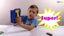 Hot Wheels Toys. Video for kids – unboxing toys trucks. Cars Toys Review Episode 14