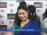 Television Celebrities at Big Television Award Show