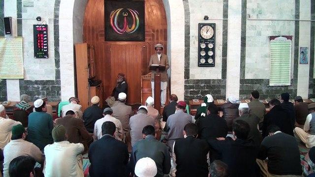 Allah ki Naimatou ki Qadardani, Khutba, by Dr. Habib-ur-Rahman Asim (Juma 30-12-16) HD