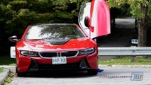 2017 BMW i8 Protonic Red Edition Plug-In-Hybrid Review -Test Drive And Internal Review Of BMW I8