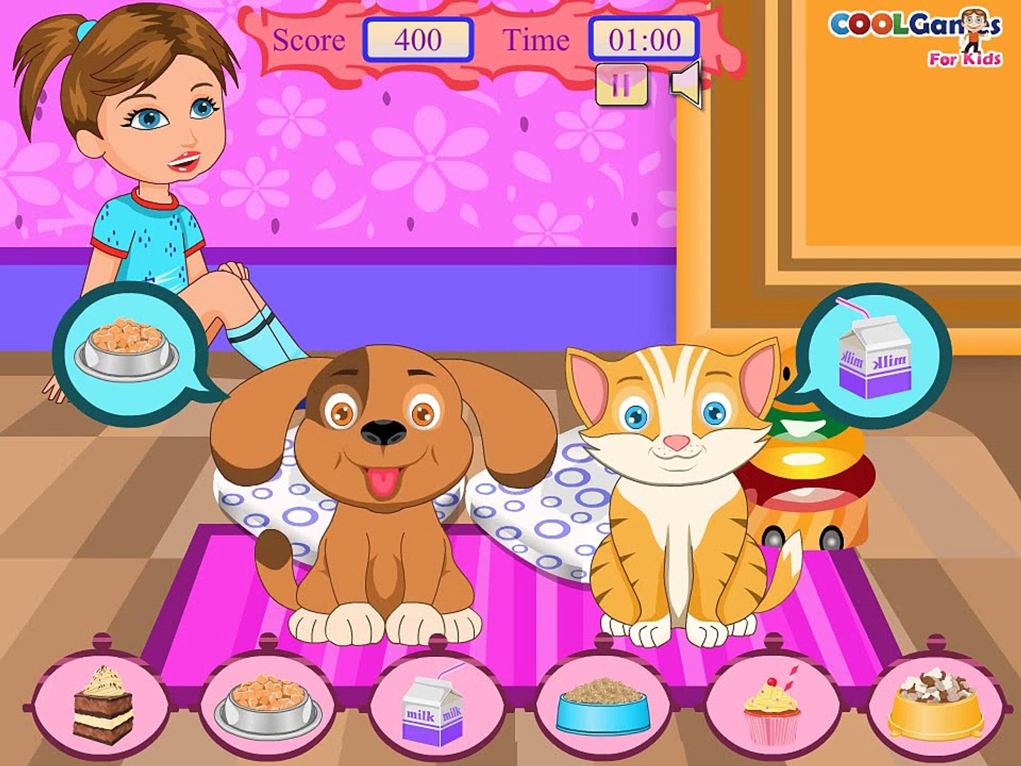 Crazy Pets Yours - Best Baby Games For Kids